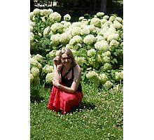 My lovely daughter Kairi Photographic Print