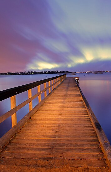 Jetty At Dawn  by EOS20