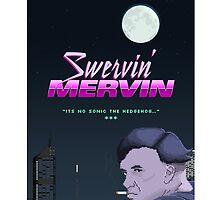 Swervin' Mervin 80s Arcade Racing Game by melaniehuang