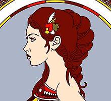 Queen of Hearts by Stephanie O'Gay Garcia