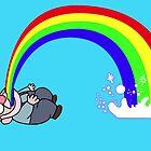 Gravity Falls Puking Gnome by Stephanie O'Gay Garcia