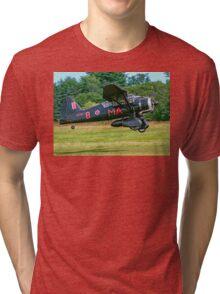 Westland Lysander IIIa V9367/MA-B G-AZWT Tri-blend T-Shirt