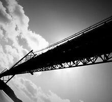 25th of April Bridge, Lisbon, Portugal by CRGArtDesign