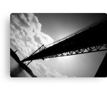 25th of April Bridge, Lisbon, Portugal Canvas Print