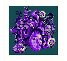 Beetlejuice Medusa Art Print
