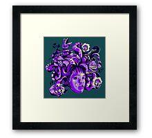 Beetlejuice Medusa Framed Print