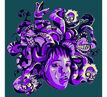 Beetlejuice Medusa Photographic Print