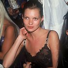 Model Kate Moss NYC 1996 by Jonathan  Green
