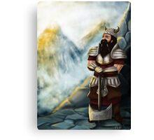 Aris the Dwarf Canvas Print