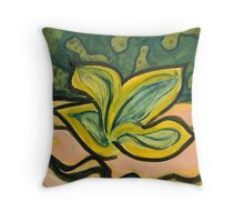 Four Brothers - (Meditation Painting 24_1) Throw Pillow