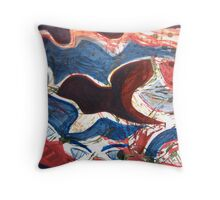 Change of Scene (Meditation Painting 24:3) Throw Pillow