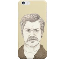 It's Ron Swanson iPhone Case/Skin