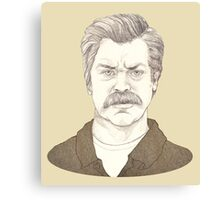 It's Ron Swanson Canvas Print