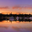 Mosman Bay At Dusk  by EOS20