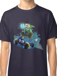 Hyrules greatest warrior...and most nervous driver.. Classic T-Shirt
