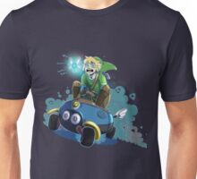 Hyrules greatest warrior...and most nervous driver.. Unisex T-Shirt