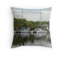 Key Largo Reflections Throw Pillow