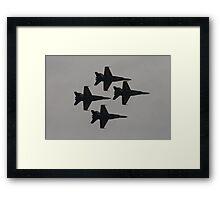 The Diamond Framed Print