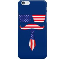 Cool classy  patriot  iPhone Case/Skin