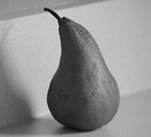 Shadow of a Pear by Dean Mucha