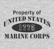 Property of USMC by Sara Wood