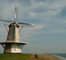 A seaside mill at Vlissingen by jchanders