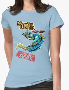 Monster Hunter Quest Clear! Womens Fitted T-Shirt