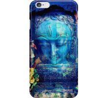 Buddha serenity door iPhone Case/Skin