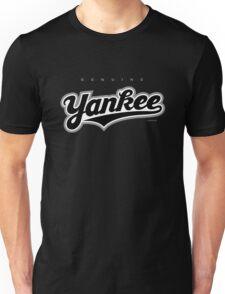 GenuineTee - Yankee(blackwhiteblack) Unisex T-Shirt