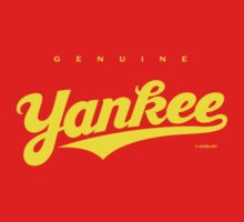 GenuineTee - Yankee (yellow) by GerbArt