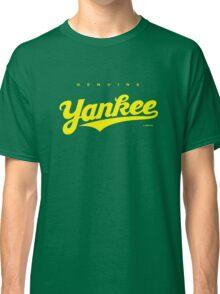 GenuineTee - Yankee (yellow) Classic T-Shirt