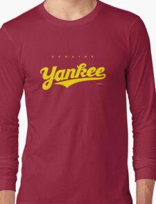 GenuineTee - Yankee (yellow) Long Sleeve T-Shirt
