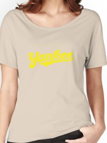 GenuineTee - Yankee (yellow) Women's Relaxed Fit T-Shirt