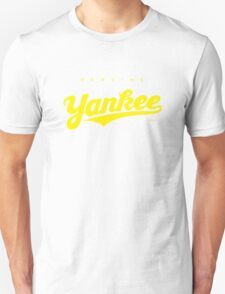 GenuineTee - Yankee (yellow) T-Shirt