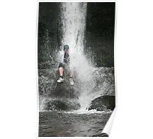 Waterfalls fun Poster
