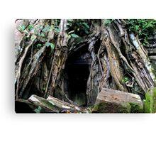 Ta Prohm Temple VI - Angkor, Cambodia. Canvas Print