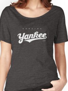 GenuineTee - Yankee (white) Women's Relaxed Fit T-Shirt