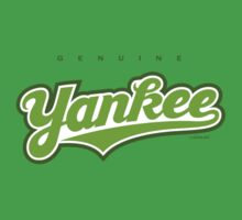 GenuineTee - Yankee(greenwhitegreen) by GerbArt