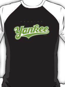 GenuineTee - Yankee(greenwhitegreen) T-Shirt