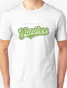 GenuineTee - Yankee(greenwhitegreen) T-Shirt