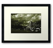 The City Green. Framed Print