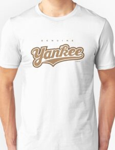GenuineTee - Yankee (brownwhitebrown) T-Shirt