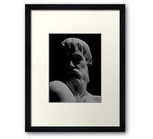 Orpheus Looks Back Framed Print
