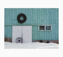 Wagon Wheel and Wreath T-Shirt