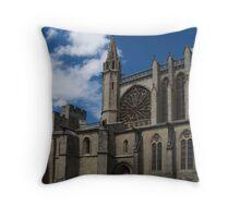 St. Nazarius, Carcassonne Throw Pillow
