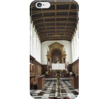 TRINITY COLLEGE CHAPEL CAMBRIDGE iPhone Case/Skin