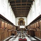 TRINITY COLLEGE CHAPEL CAMBRIDGE by gothgirl
