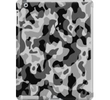 Grey Camouflage Army Military Pattern iPad Case/Skin