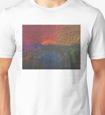 Spring Color Wheel Landscape Unisex T-Shirt