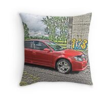 Nissan Altima HDR Throw Pillow